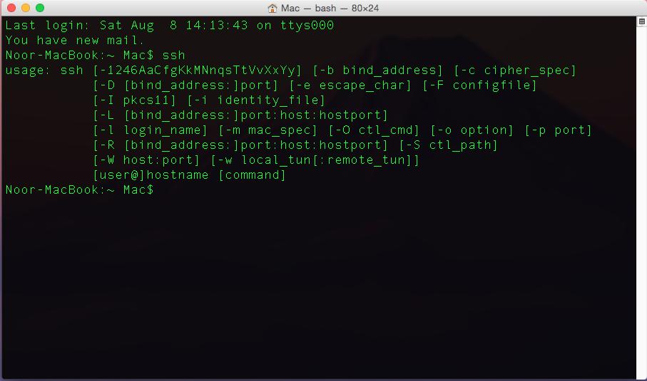 Photo of SSH Server Setup & Config | Kali Linux | Mac OS X | Windows 7/8.1/10