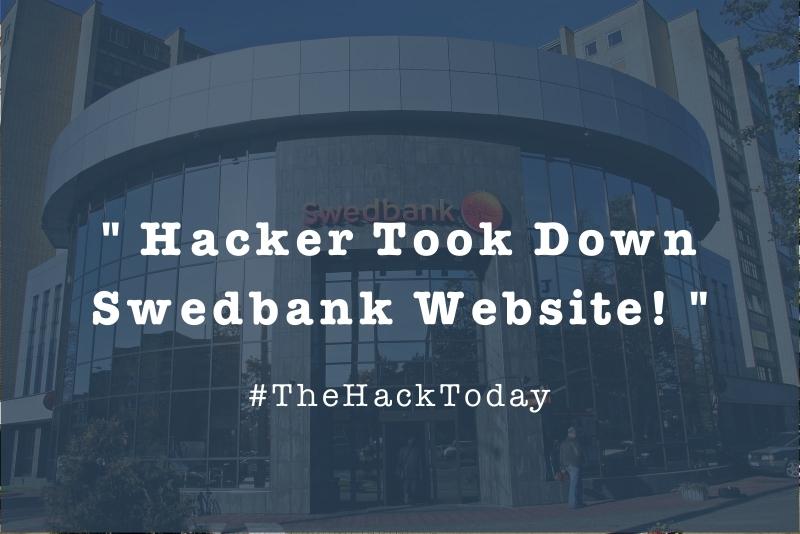 Swedbank utsatt for hackerattack 1