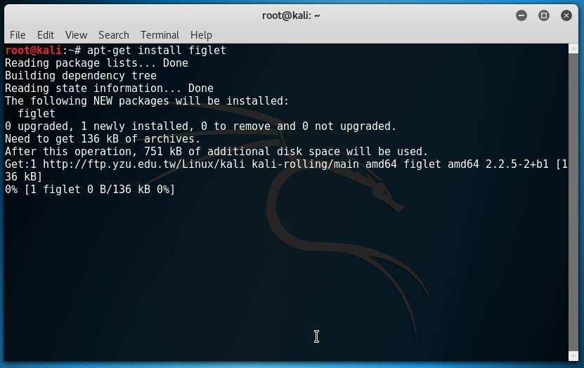 How To Set ASCII Text Art In Kali Linux Terminal Header