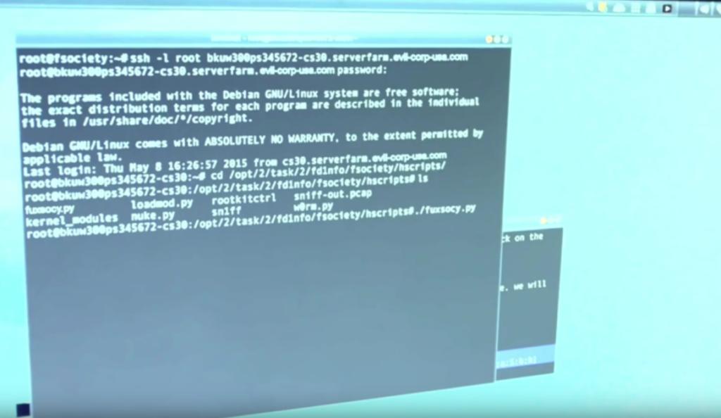 Hacking Techniques & Kali Linux - Mr  Robot Season 2