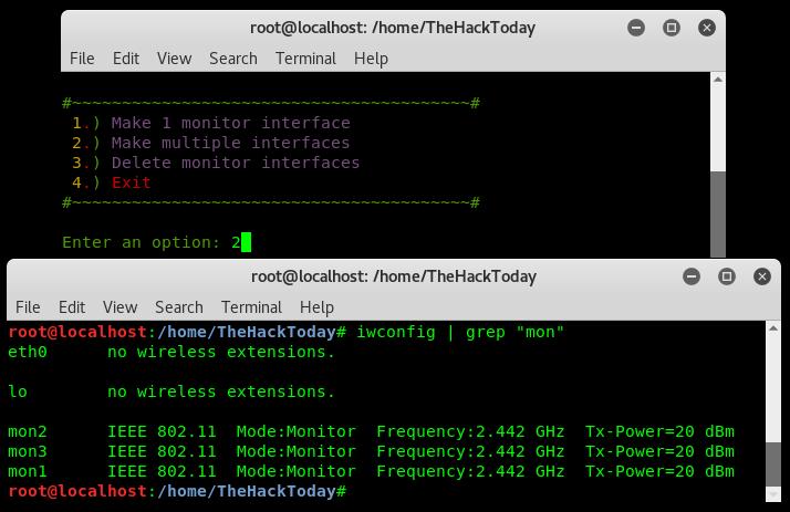 Photo of Makemon – Create Multiple Monitor Mode on Wireless Interface