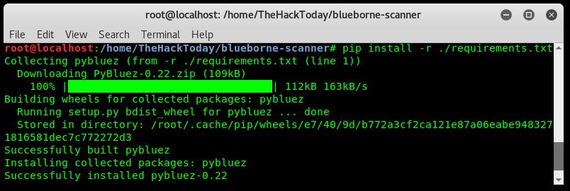 Scan Android BlueBorne Exploit Vulnerability on Kali Linux