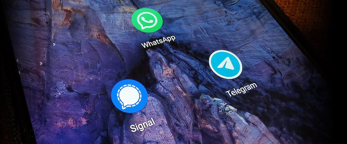 A Detailed Comparison of WhatsApp, Telegram & Signal